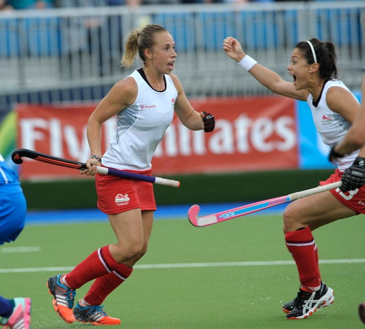 Susannah-Townsend-celebrates-scoring-the-winning-goal-for-England-against-Scotland-during-their-pool-game-at-the-XX-Commonwealth-Games-Glasgow-30th-July-2014-credit-Ady-Kerry